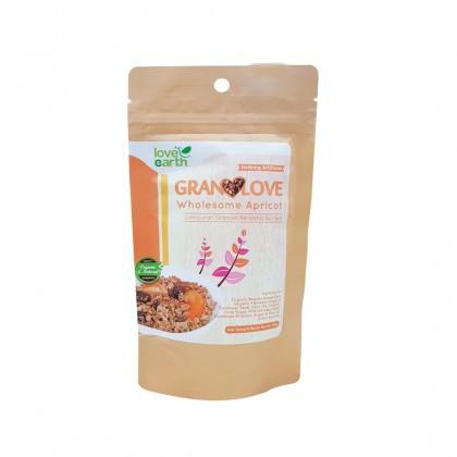 Love Earth Wholesome Apricot Granolove 80g Granolove 完美杏干格兰诺拉 80公克 (盒 装)