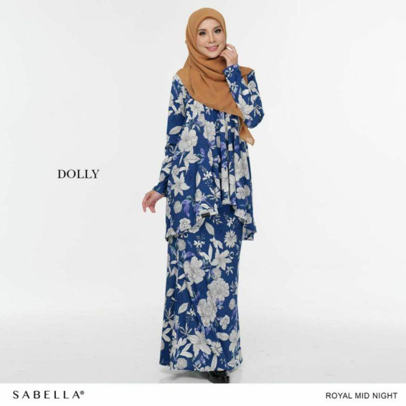 Sabella Dolly Kurung Size M,L,XL,2XL&3XL [Ready Stock]