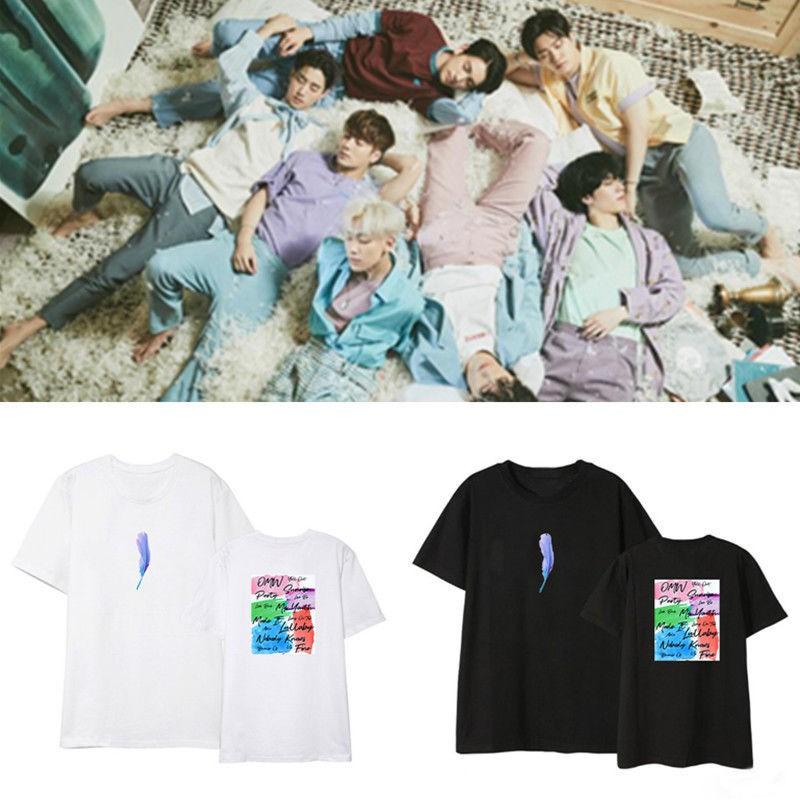 096dcdcada55ae 2019 Kpop NCT 127 Neo City The Origin Concert T-Shirts Fashion Girls Tops    Tees