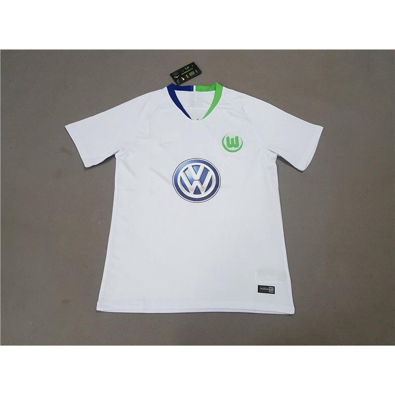 pretty nice 8a0d4 ffa0f 2018 2019 Germany VfL Wolfsburg soccer jersey