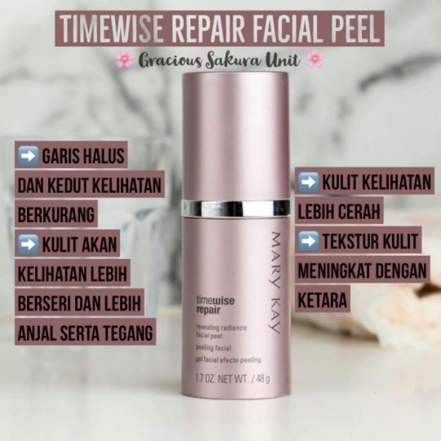Timewise Repair Revealing Radiance Facial Peel Clearance