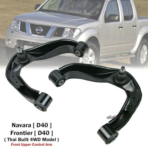 1 Pair Front Upper Control Arm For Nissan Navara D40 4WD 2005-2014