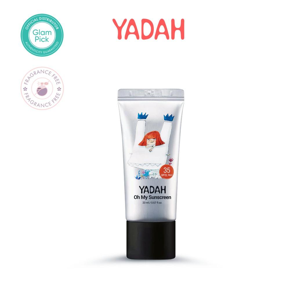 YADAH Oh My Sunscreen SPF35 PA++ 20ml