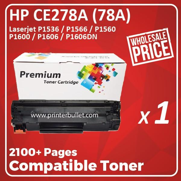 HP CE278A / CE278 / 78A High Quality Compatible Toner Cartridge