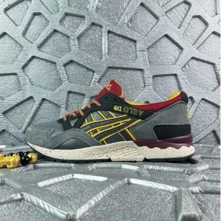 720811f4f2 Authentic Asics Gel-Lyte V H519L Retro Men Jogging Women Sport running Shoes