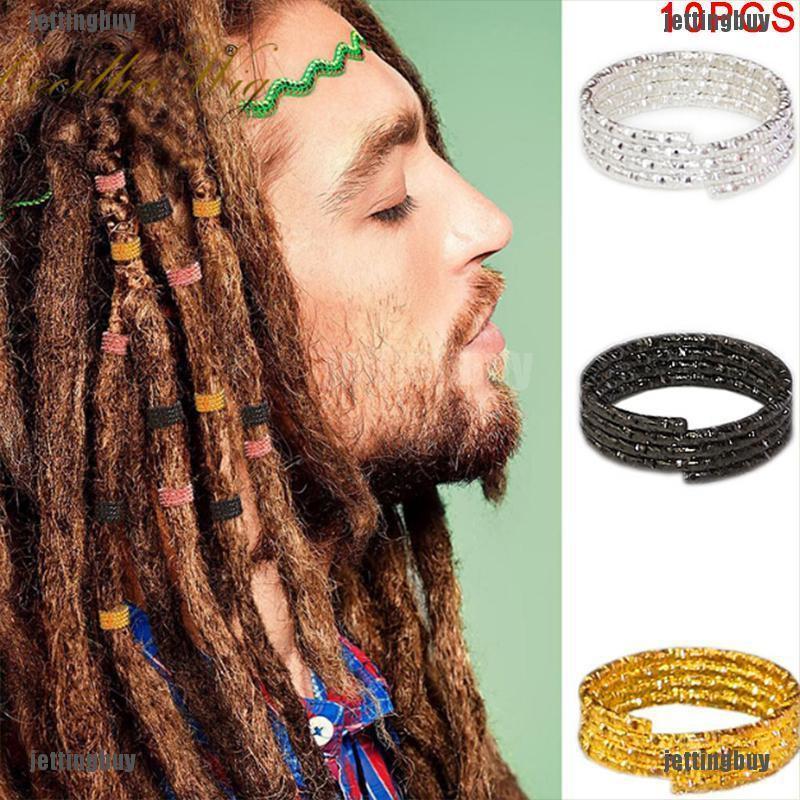 Dread Lock Dreadlocks Braid Tube Beads Hair Clips Pendants Hair Accessories Set
