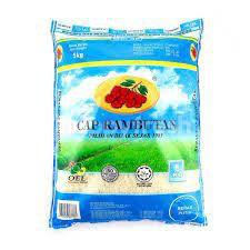 Cap Rambutan White Rice 10kg