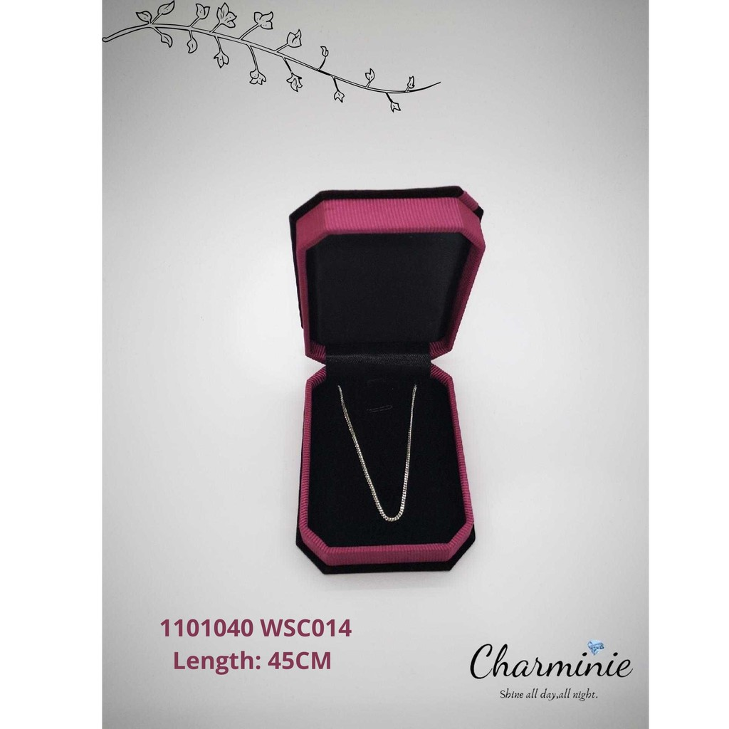 Sliver 925 Long Chain 014 (45cm)-Charminie