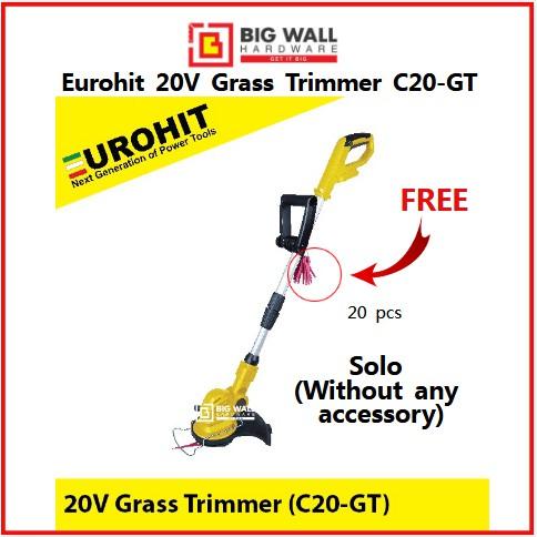 Eurohit 20V Cordless Grass Trimmer C20-GT Pemotong Rumput Big Wall Hardware