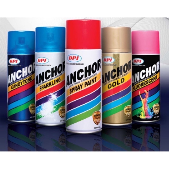 [PROMOTION] ANCHOR SPRAY PAINT - All Color Reday Stock 100 %