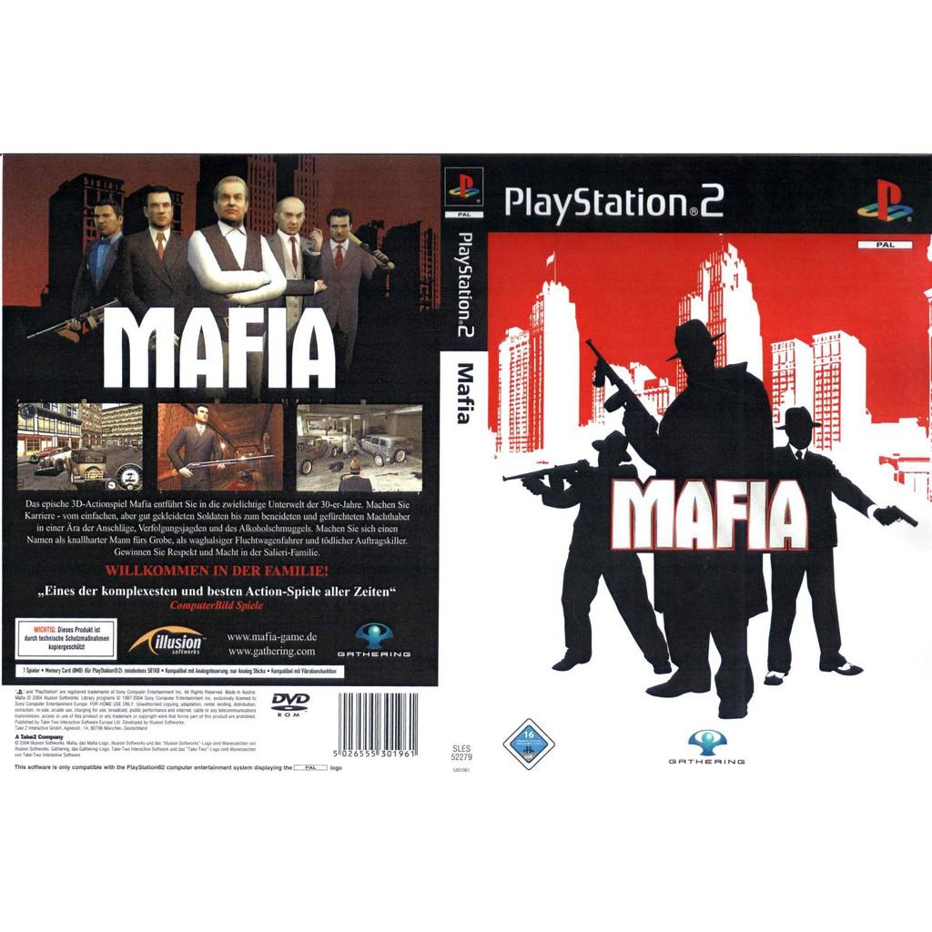 PS2 Game Mafia