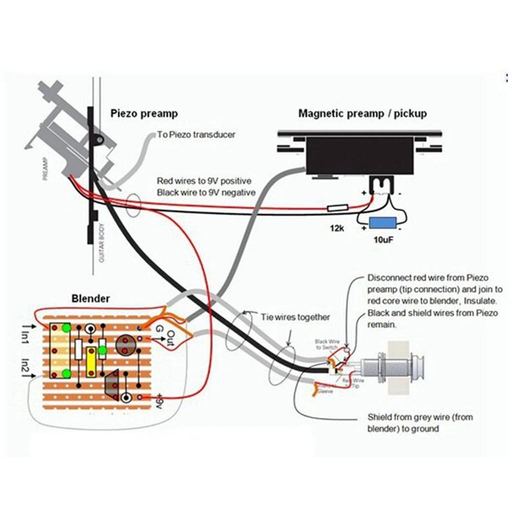 ❀NEW❀Fishman Presys Blend 301 Folk Acoustic Guitar Pickups Mic on jackson guitar wiring diagrams, bass guitar wiring diagrams, ibanez guitar wiring diagrams, electric guitar wiring diagrams,