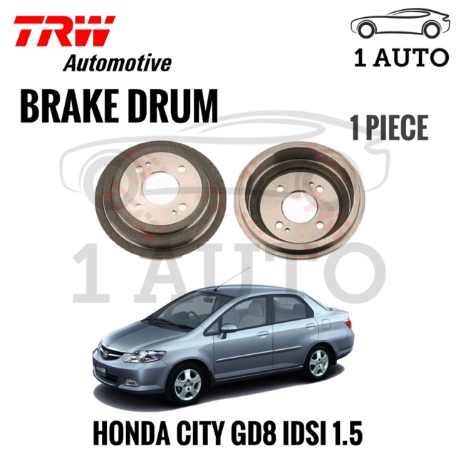 Fits Toyota Prius 1.5 Genuine TRW Rear Parking Brake Shoe Accessory Kit