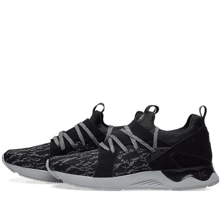 san francisco 761e1 90f1a ASICS GEL LYTE V SANZE KNIT black out mens women mesh sport training shoes  36-45