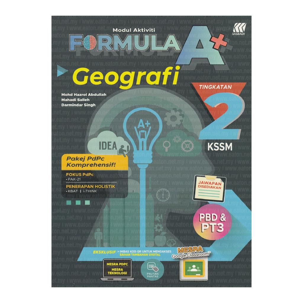 Jawapan Buku Aktiviti Geografi Tingkatan 2