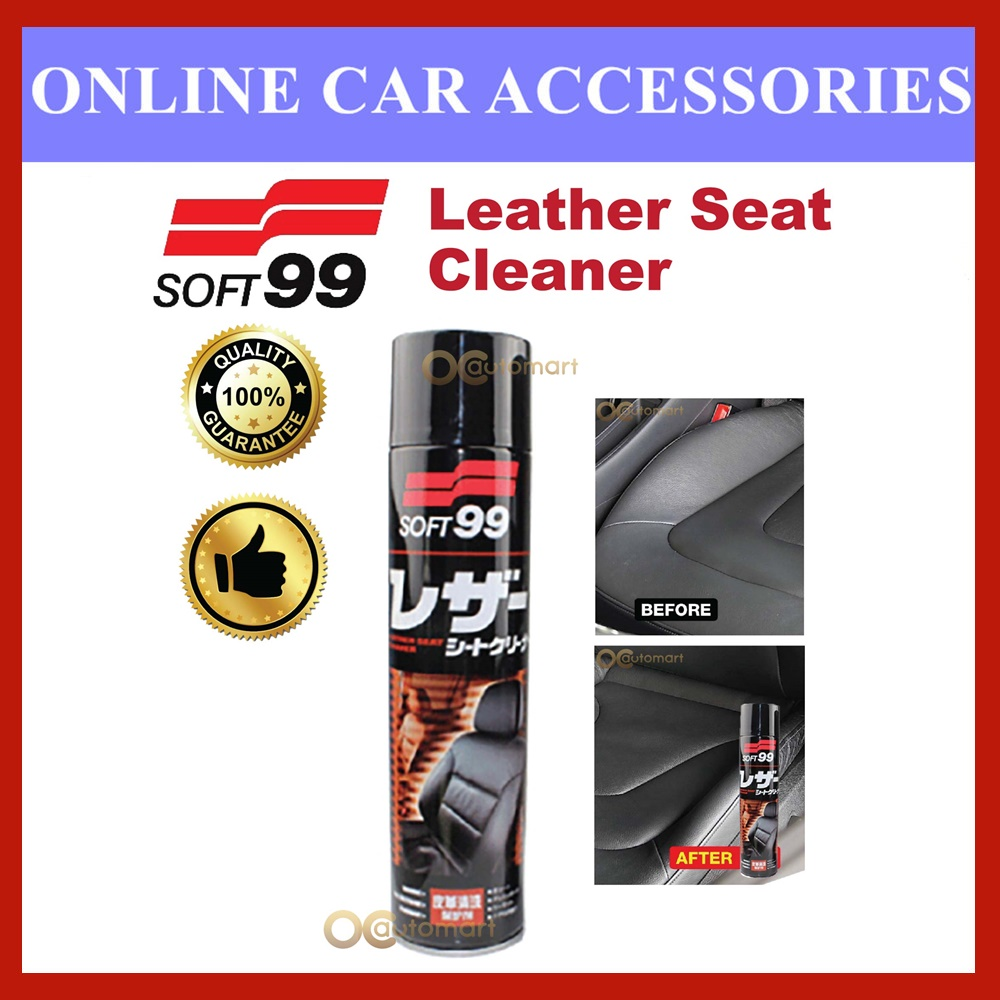 (Free Gift) Soft99 / Soft 99 Leather Seat Cleaner - 600ml