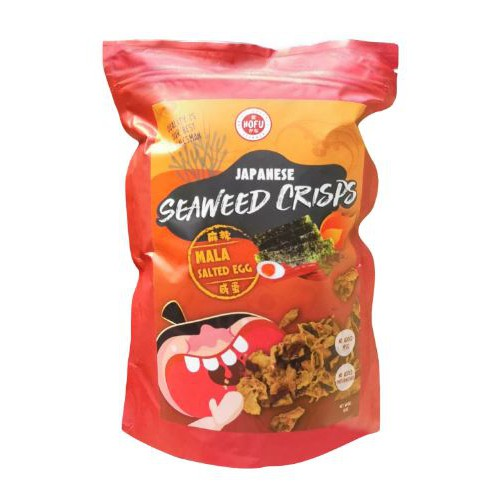 [Original] Hofu Mala Salted Egg Japanese Seaweed Crisps (100g) 黄金咸蛋麻辣香脆紫菜