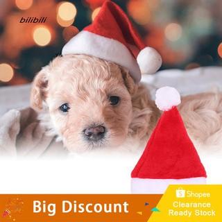 0bd1806c4 BL_Christmas Holiday Costume Plush Pet Dog Santa Hat Party Supplies ...