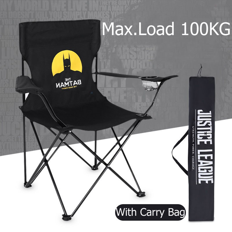 Portable Camping Chair with Storage Bag for Fishing Hiking Picnic Outdoor Dilwe Folding Chair