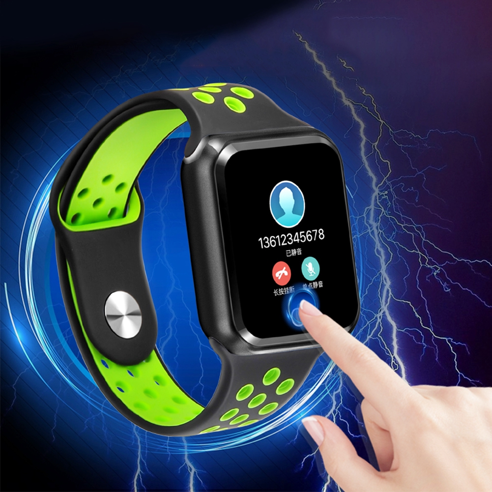 Magnetic Charging Call Reminder Blood Pressure Outdoor Sports Bluetooth  Waterproof Digital Heart Rate Monitor For IPhone