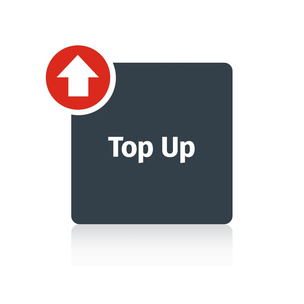 top up add on upgrade deposit only
