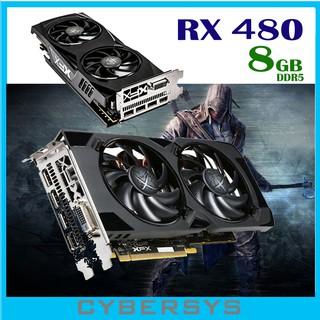XFX Radeon RS RX 480 DirectX 12 RX-480P836BM 8GB