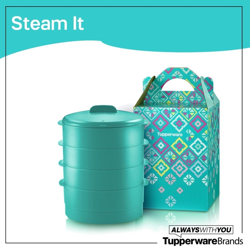 Tupperware Steam It Wutj Gift Box
