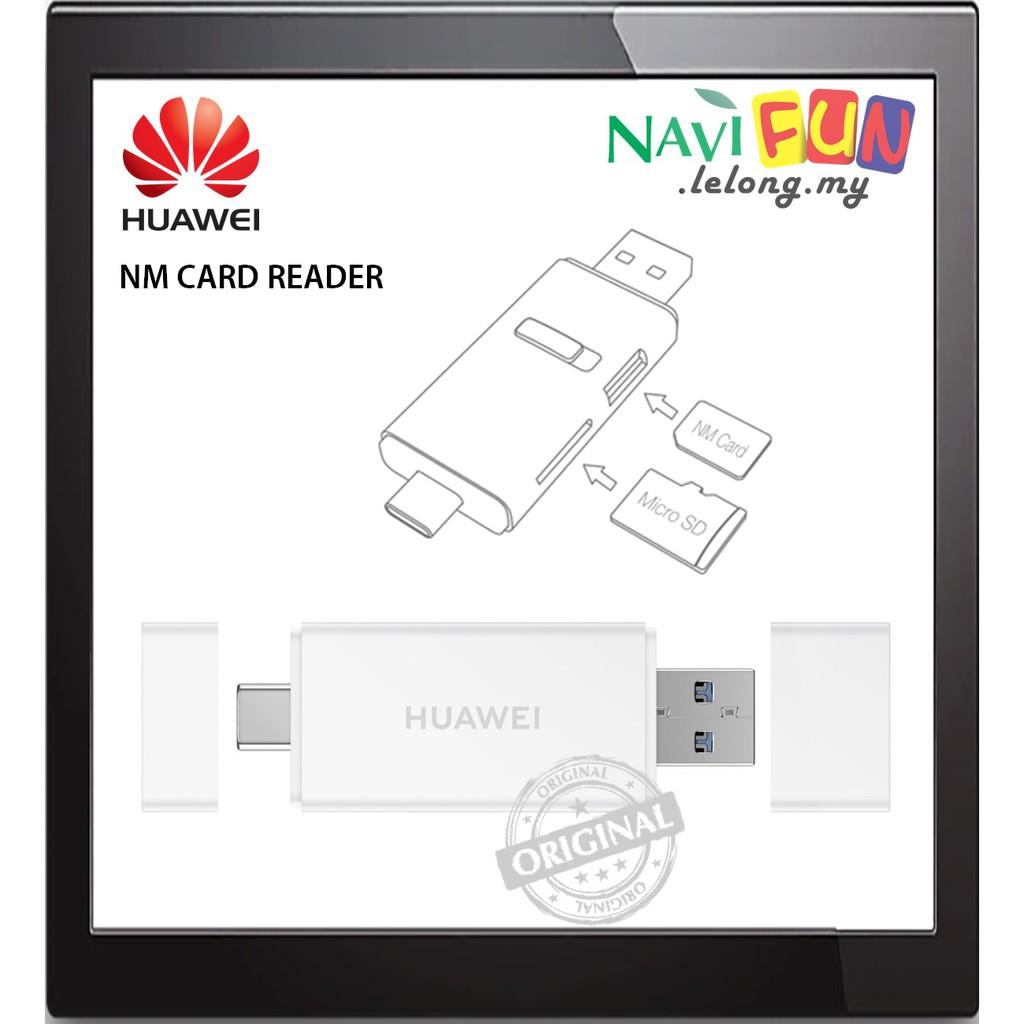 Huawei (ORI) NM Card SD Card Reader [USB-C][USB A] (6 Month Warranty)