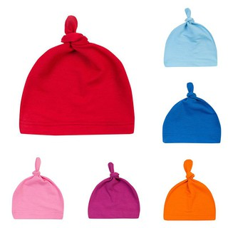 f72836d79 Lovely Baby Newborn Toddler Infant Boys Girls Cotton Knot Sleep Hat Cap  Beanie