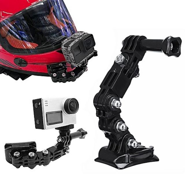 Adhesive Front Full Face Helmet Chin Mount for Gopro.