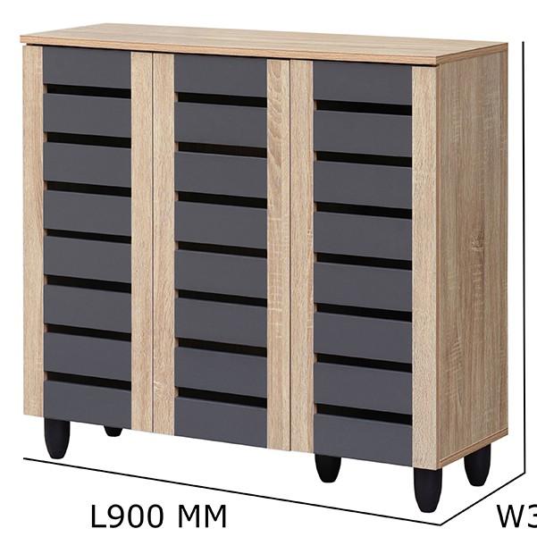 TANGO 3 door 4 shelves shoe cabinet/ shoe cabinet/ air ventilation shoe cabinet/ rak kasut/ kabinet kasut/ 鞋厨/ cabinet k