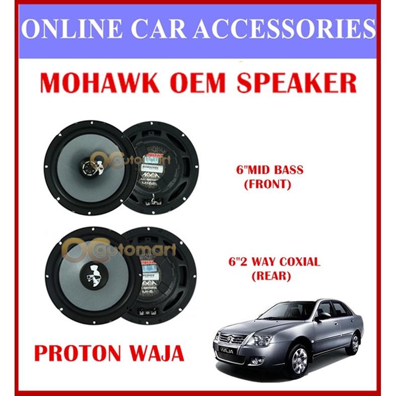 MOHAWK Universal Front & Rear Speaker For PROTON,PERODUA,TOYOTA,HONDA,NISSAN-(Proton Waja)
