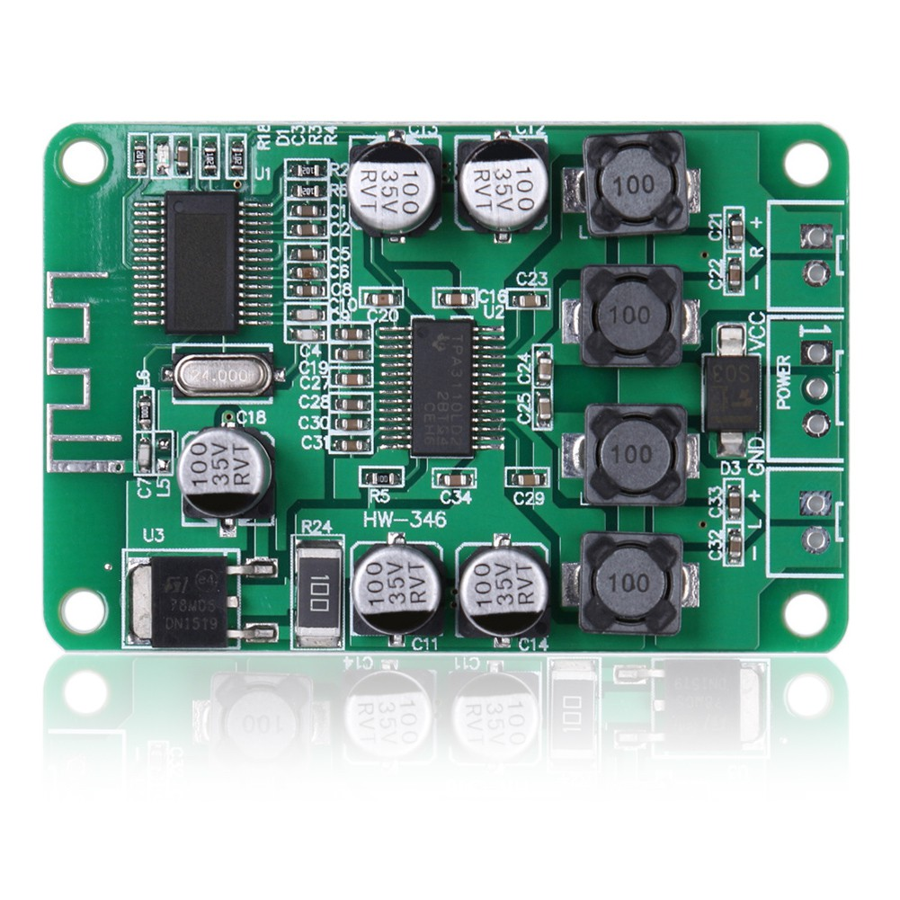TPA3110 2x15W Bluetooth Audio Power Amplifier Board for Bluetooth Speaker  Ricese