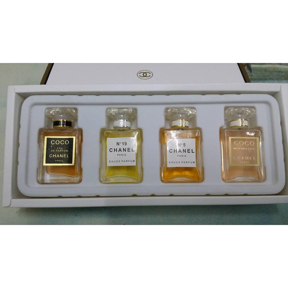 Chanel Mini Perfumes Set Shopee Malaysia