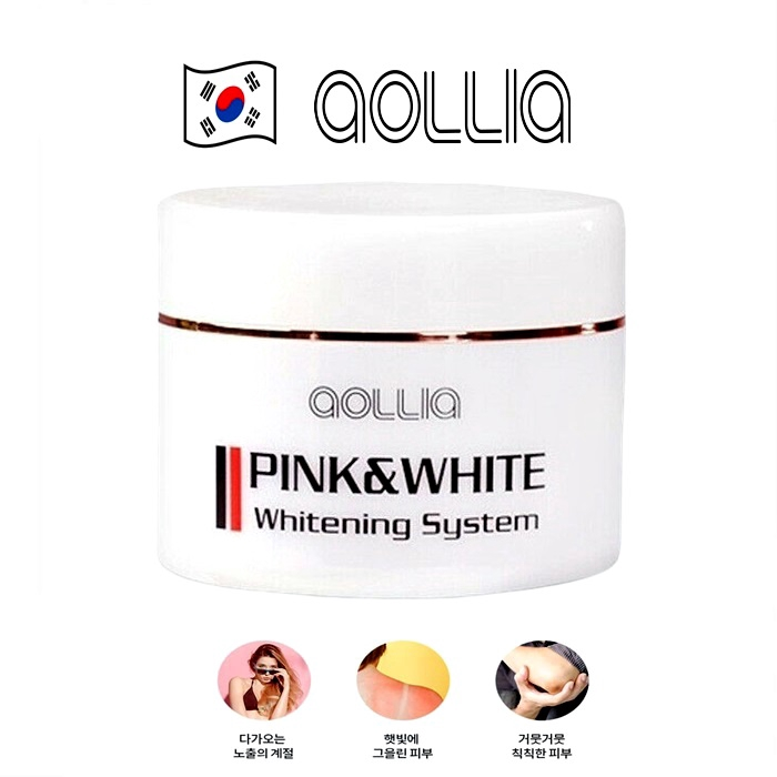 Pink&White ing whole body whitening cream color relief cream 50ml