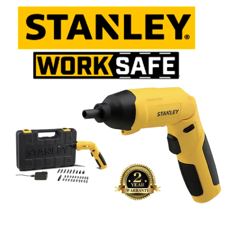 STANLEY SCS4K SCREWDRIVER 4V COMPACT SCREWDRIVER EASY USE SAFETY GOOD QUALITY