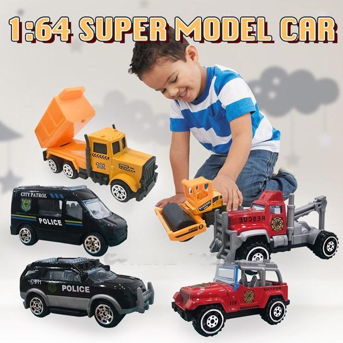 MALAYSIA O] SET MODEL KERETA KENDERAAN DARI ALLOY / 1:64 SUPER MODEL CAR