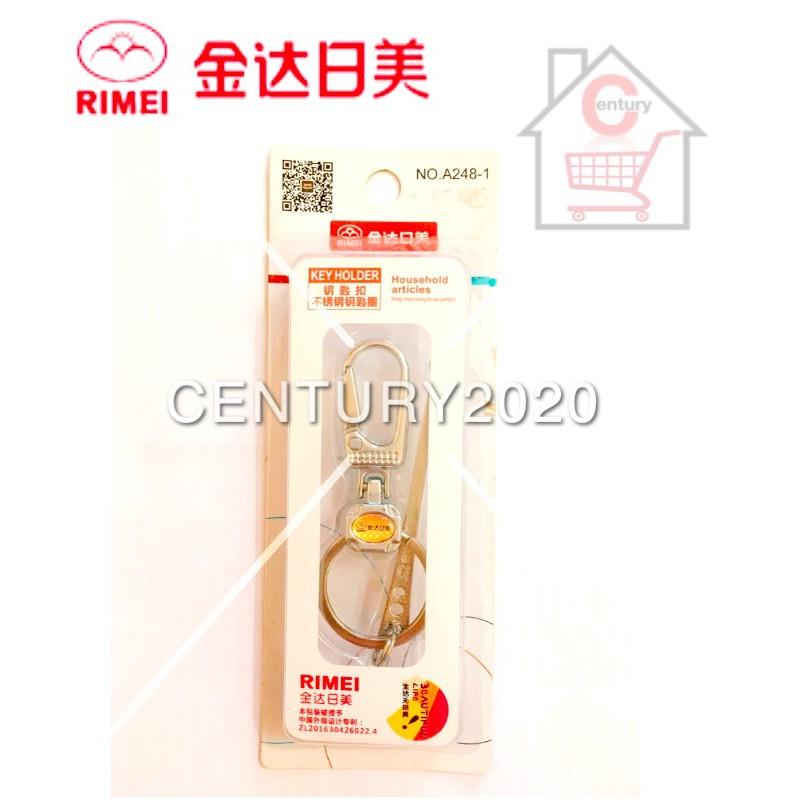 RIMEI Key Chain Key Ring Key Holder Multi-functional Keychain with Earpick A248-1