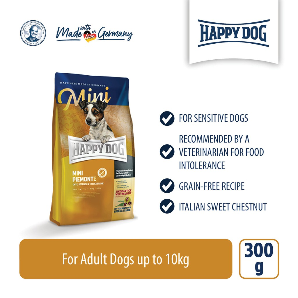 Happy Dog Supreme Mini Piemonte (300g)