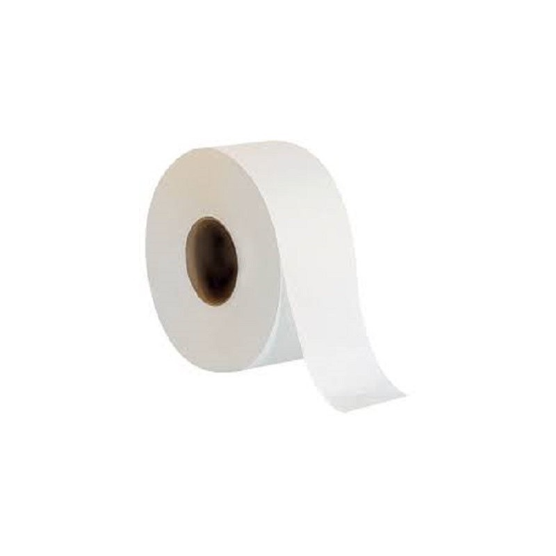 Jumbo Roll Tissue Roll 100% Virgin Pulp 2ply Tissue 卫生纸,面纸 - 1 Roll