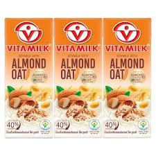 Vitamilk UHT Soymilk with Almond Oat 230ml