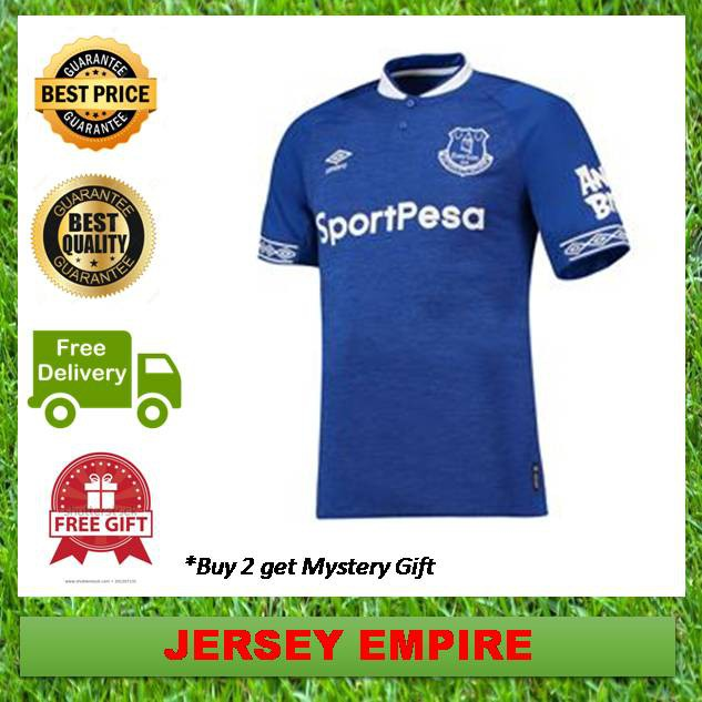buy online 6199a 453c0 (Ready Stock) Everton Football Jersey Home Kit 18/19 Umbro -TOP