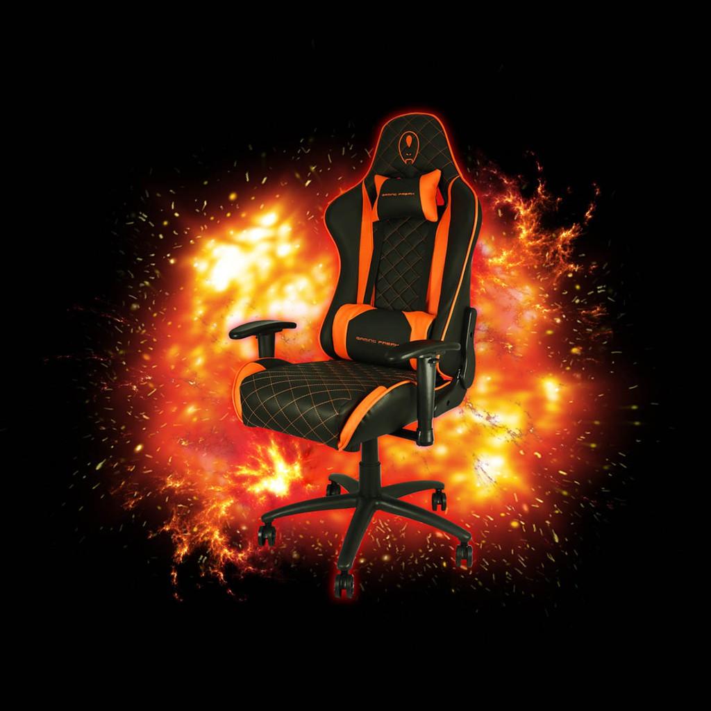 Gaming Freak Chair Magic Throne Orange Edition GF-GCMT11-OR
