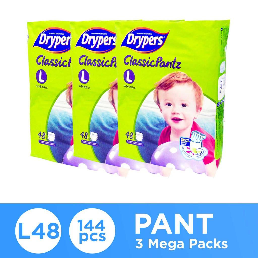 Drypers Classic Pantz Mega (3 x  L48)