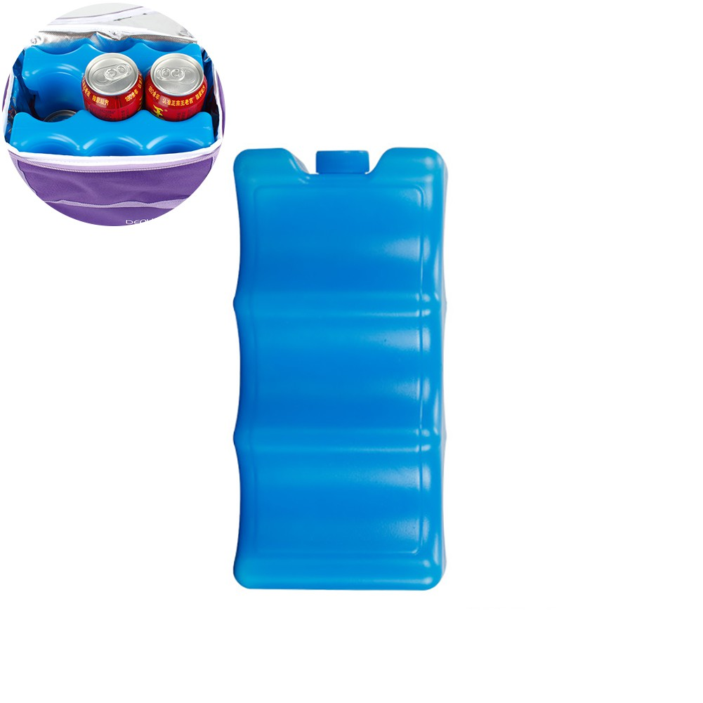 2pcs Contoured Shape Ice Packs Breast Milk Bottles Breastmilk Storage Packs