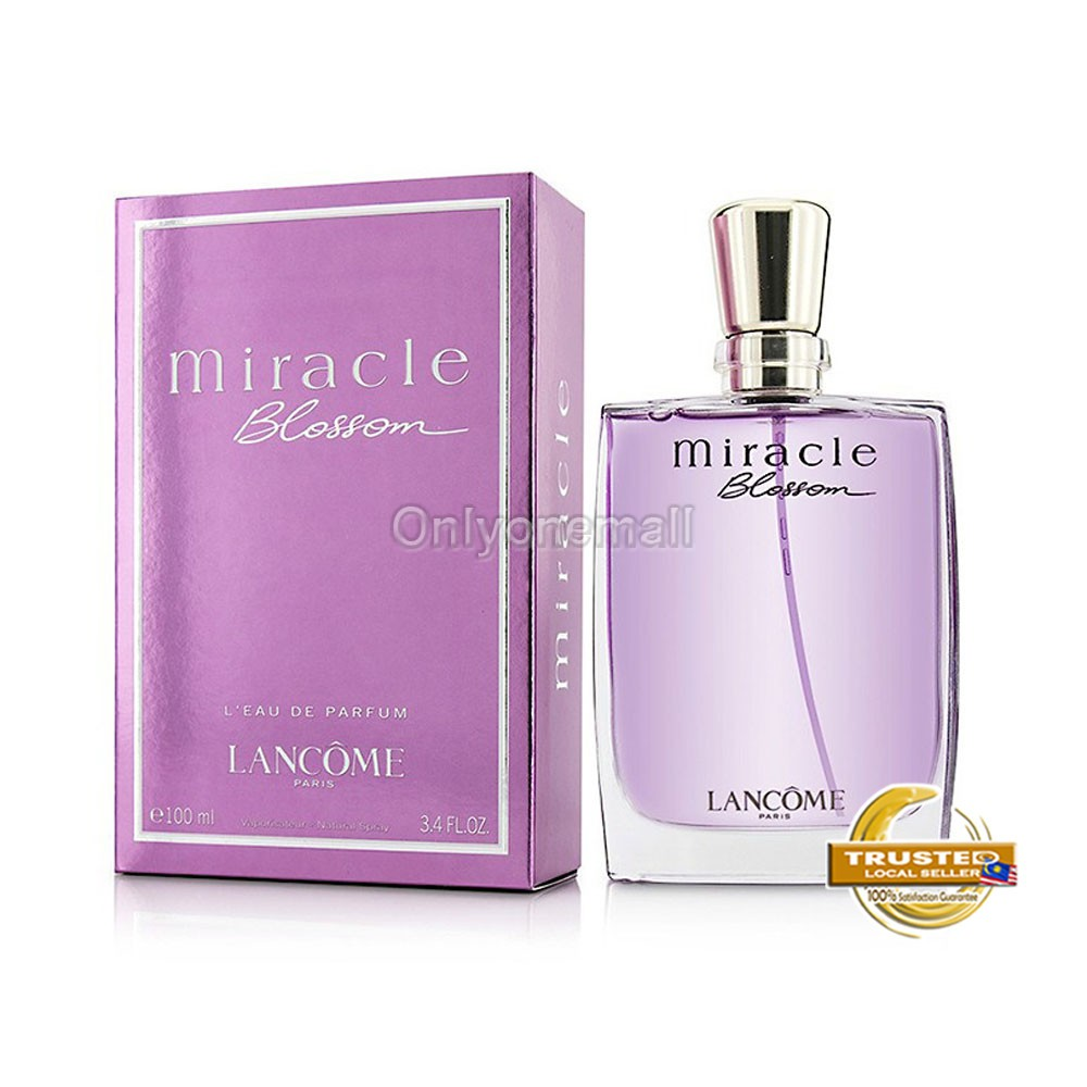 LANCOME Miracle Blossom EDP 100ml (With Free Gift)
