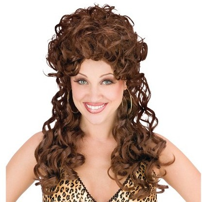 READY STOCK mother wig 60s 70s wig retro wig new year wig short wig ... 6c343e900a