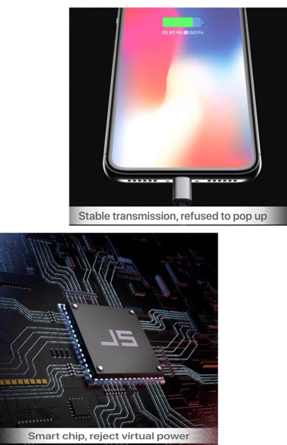 New Design Foldable Fast Charging 3 In 1 Micro USB Charging Cable/Iphone/Android/Type-C