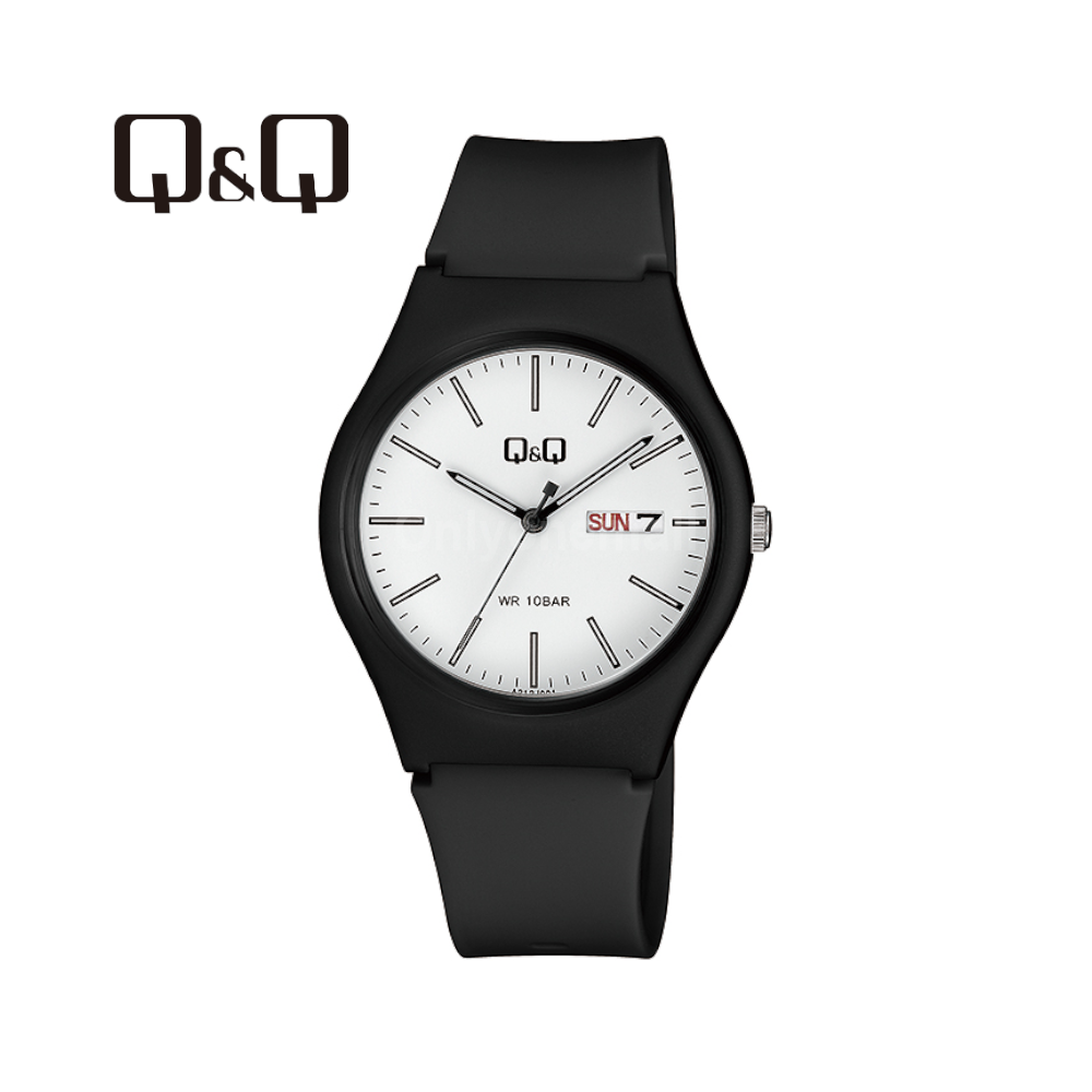 Q&Q A212J001Y 38mm Casual Analogue Watch