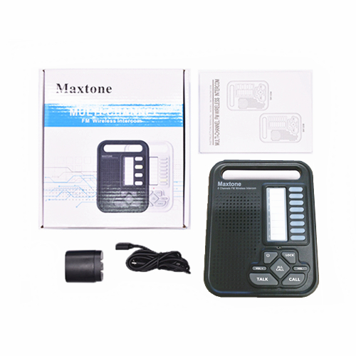 MAXTONE SK1208 Home/Office 8 Channel Wireless Voice Intercom System